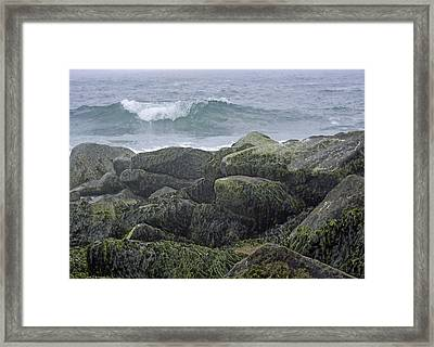 Last Wave Framed Print