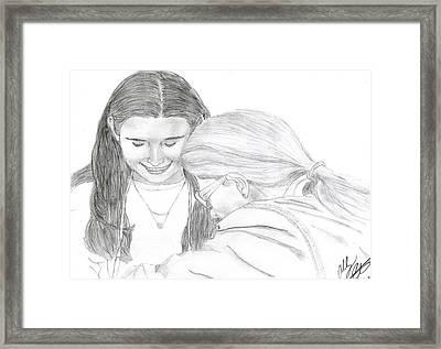 Lasting Framed Print by Ashley Porter