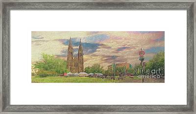 Lasting Impression - Prague Framed Print