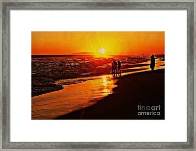 Lasting Memory Framed Print