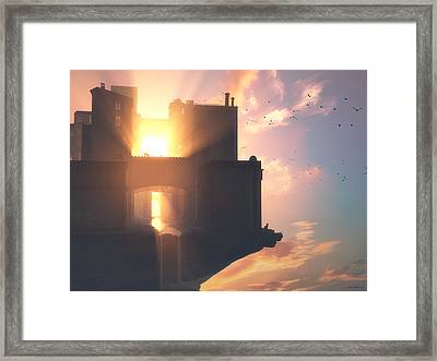Lastlight Framed Print by Cynthia Decker