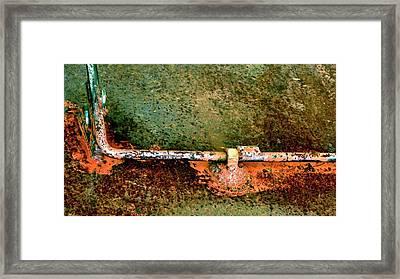 Latch 5 Framed Print