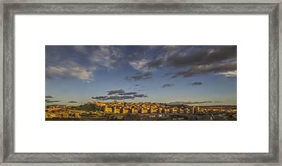 Late Afternoon Avila Framed Print