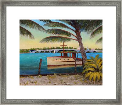 Late Afternoon Framed Print by Gordon Beck