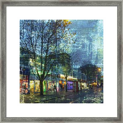 Late Afternoon In Autumn Framed Print by LemonArt Photography