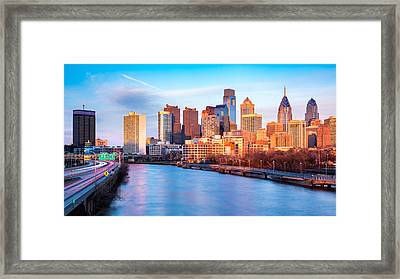 Late Afternoon In Philadelphia Framed Print