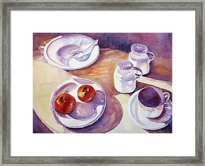 Late Afternoon Framed Print by Jean Costa