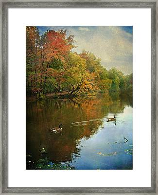 Framed Print featuring the photograph Late Afternoon by John Rivera