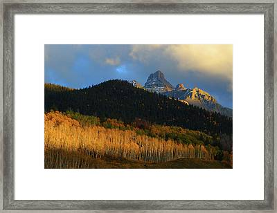 Framed Print featuring the photograph Late Afternoon Light On The San Juans by Jetson Nguyen