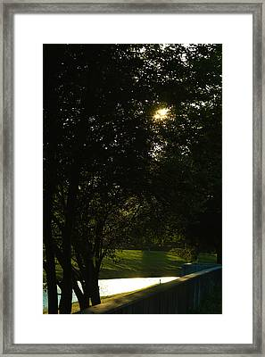 Late Afternoon Framed Print by Pit Hermann