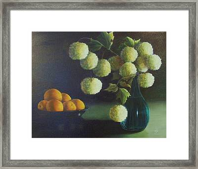 Late Afternoon Sun Framed Print by Jean LeBaron