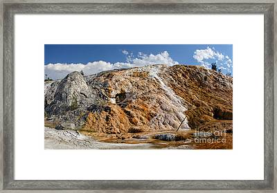 Framed Print featuring the photograph Late Day Sun On Palette Spring by Charles Kozierok