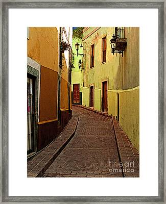 Late Golden Light Framed Print by Mexicolors Art Photography