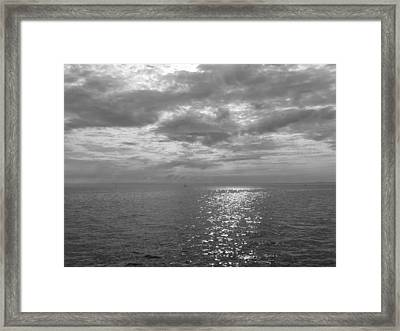 Immensity With Light Framed Print