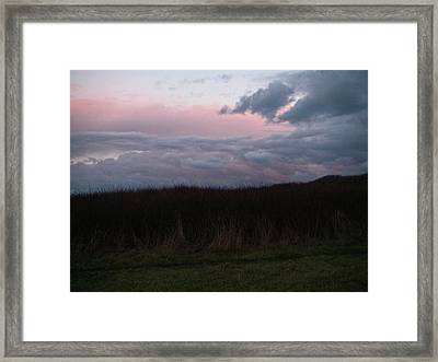 Framed Print featuring the photograph Late Light by Laurie Stewart