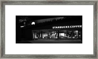 Framed Print featuring the photograph Late Night At The Bucs by David Lee Thompson