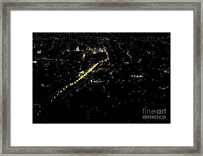 Framed Print featuring the photograph Late Night In Cuenca, Ecuador by Al Bourassa