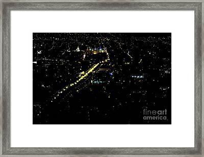 Late Night In Cuenca, Ecuador Framed Print by Al Bourassa