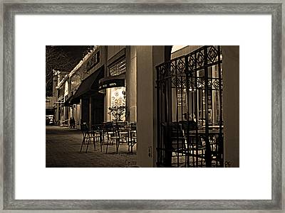 Late Night In San Marco Framed Print by William Jones