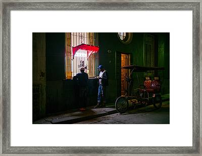 Late Night Snack Framed Print