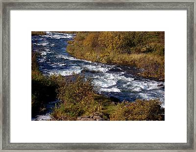Late September Framed Print by Marilynne Bull