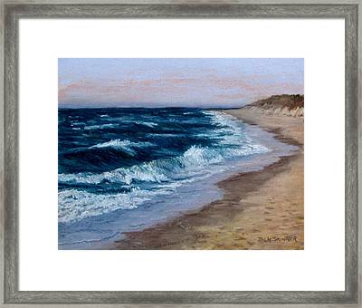 Late Spring At Cold Storage Beach Framed Print by Jack Skinner