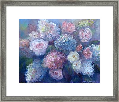 Late Summer Bouquet Framed Print