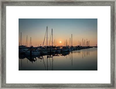 Late Summer Calm Framed Print
