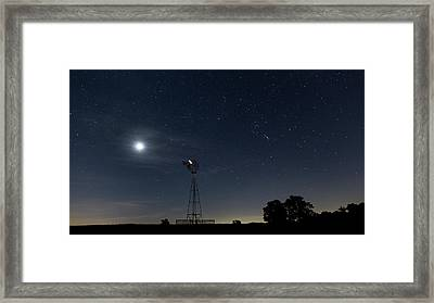 Late Summer Early Morning Framed Print by Bill Wakeley