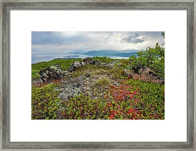 Framed Print featuring the photograph Late Summer In The North by Maciej Markiewicz