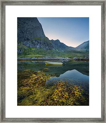 Framed Print featuring the photograph Late Summer by Maciej Markiewicz