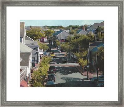 Late Summer Nantucket Framed Print