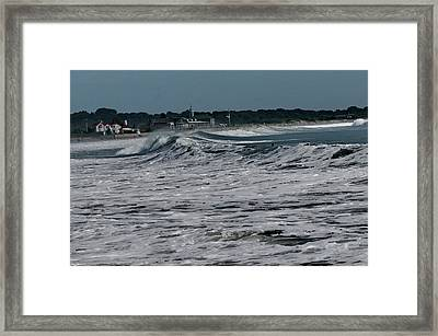 Late Summer Storm Framed Print