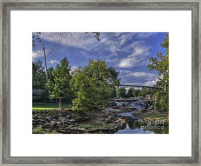 Late Sun Framed Print