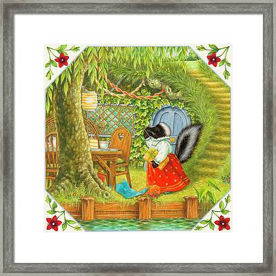 Late To The Party Framed Print by Lynn Bywaters
