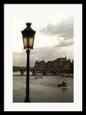 Lightpole Framed Prints