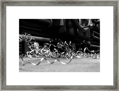 Lathe Framed Print by Thomas Splietker