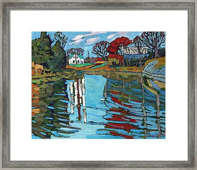 Latimer Bend Framed Print