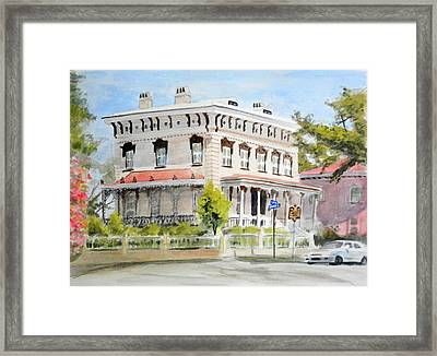 Latimer House Framed Print by Christopher Reid