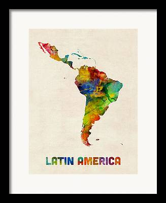 Uruguay Framed Prints