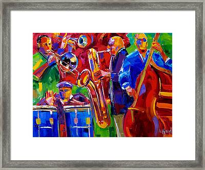 Latin Music Framed Print by Debra Hurd