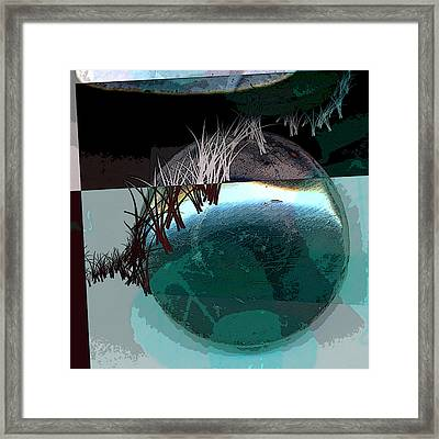 Latitude Framed Print by Theresa Paris