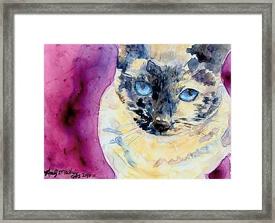 Latte Framed Print by Andy  Mathis