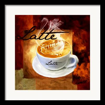 Caffe Decor Framed Prints