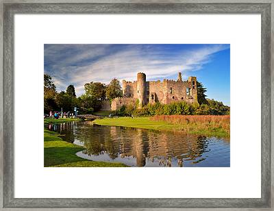 Laugharne Castle 1 Framed Print