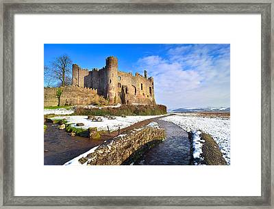 Laugharne Castle 2 Framed Print