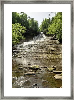 Laughing Whitefish Falls Framed Print