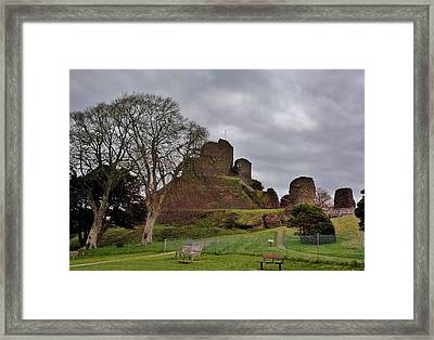 Launceston Castle Framed Print