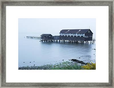 Launch For Hire Framed Print by Eric Foltz