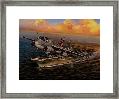 Launch The Prowler Framed Print by Dale Jackson